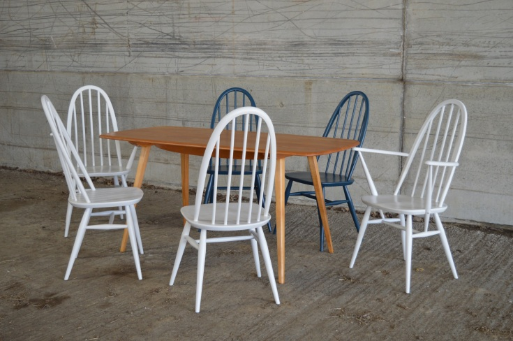 ercol chair and dining table