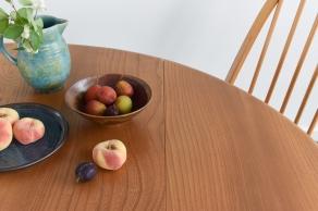 vintage-ercol-light-elm-windsor-drop-leaf-oval-dining-table
