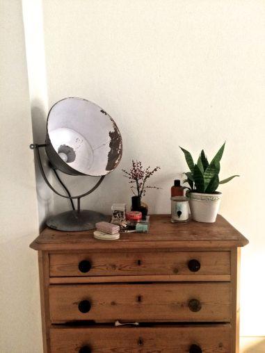 Industrial vintage lamp