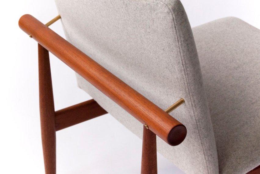 Finn Juhl Model 137 Japan Chair & Ottoman,