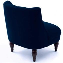 Navy Blue Anna Chair