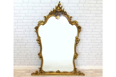 Large Ornate Gilt Pier Mirror £295