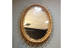 Oval Cane Mirror £54