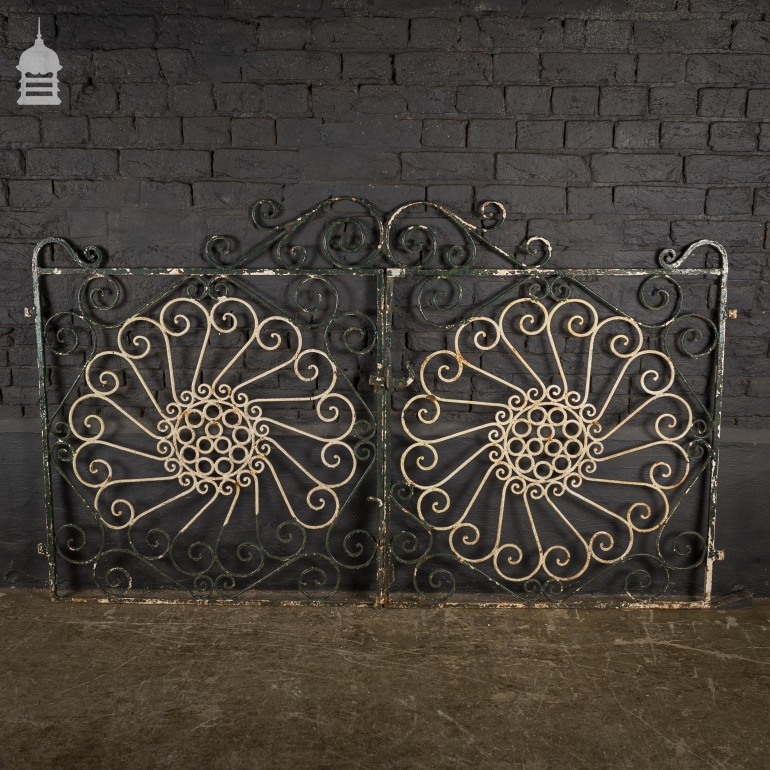 pair-of-reclaimed-steel-garden-gates-with-scroll-detail