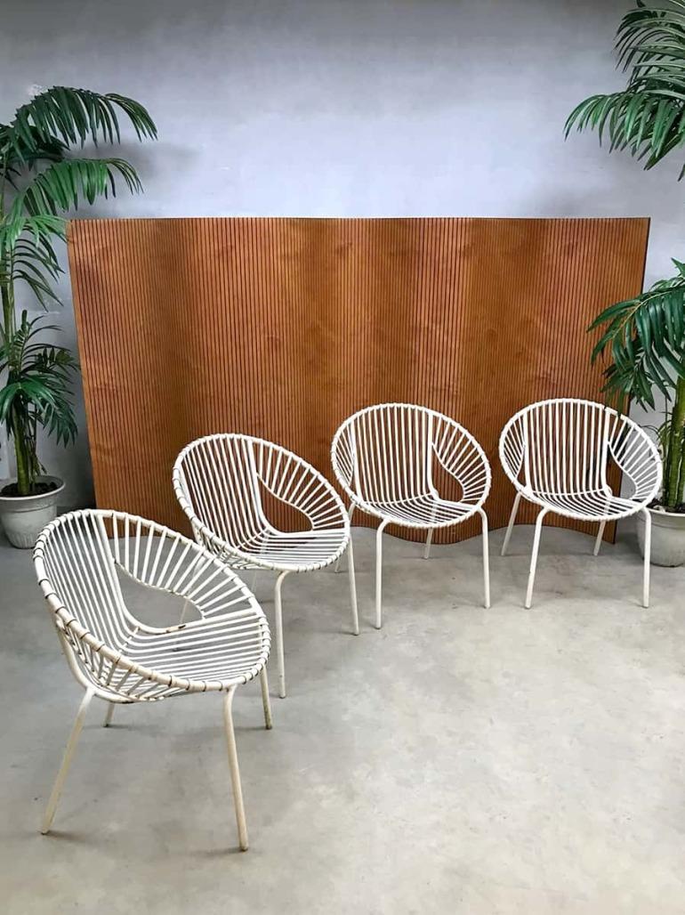 vintage-industrial-wire-balloon-chairs-garden-chairs-outdoor-garden-set