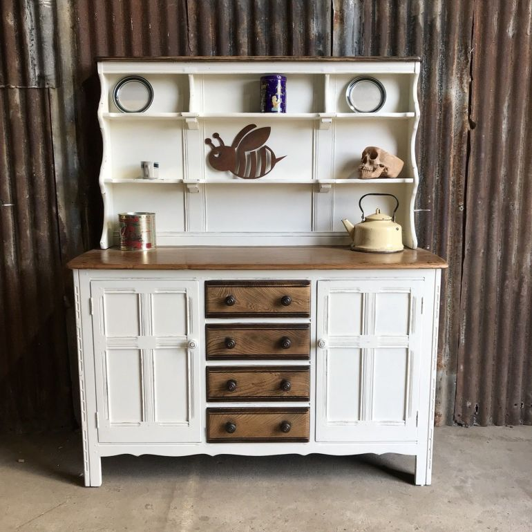 ercol-welsh-dresser-country-shabby-chic-farmhouse-rustic-cupboard-kitchen-unit-ercol