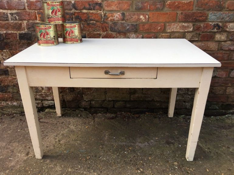 lovely-formica-topped-oblong-wooden-table-kitchen-with-drawer-retro