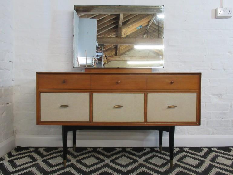 mid-twentieth-century-wrighton-light-teak-six-drawer-dressing-table-with-mirror