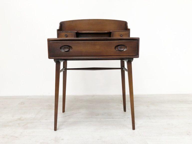 rare-vintage-mid-century-1950s-ercol-elm-compact-desk-dressing-table-439-437
