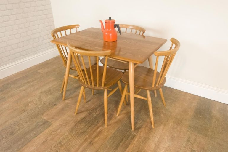 vintage-retro-ercol-breakfast-table-and-4-chairs-in-light-elm (1)