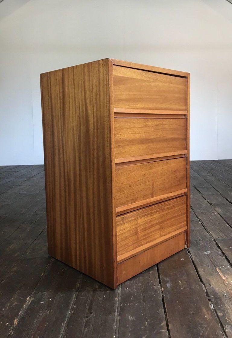 vtg-mid-century-slant-fronted-chest-drawers-danish-design-retro-60s-70s