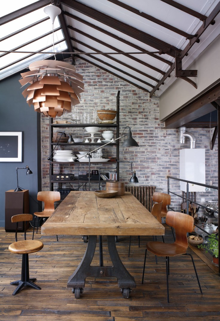How to Get the Industrial Style - Vinterior