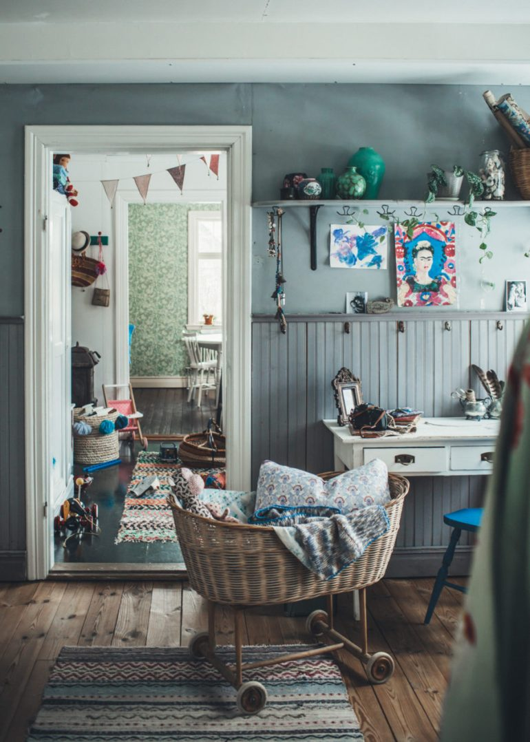 Trend Alert: Boho Kid's Room with a Vintage Touch - Vinterior